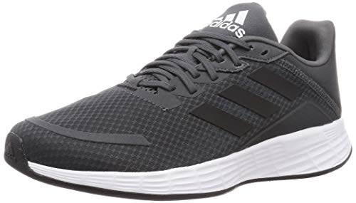 adidas Duramo SL, Zapatillas de Running para Hombre, Grey Six/Dove Grey/Bright Cyan, 42.67 EU