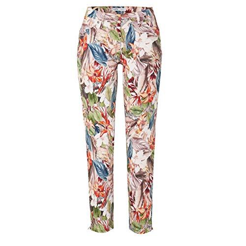 Toni Dress Damen 7/8 Jeans Perfect Shape Zip Multicoloured bunt - 46