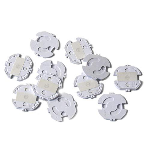 reer 3246.010 Steckdosen-Schutz zum Kleben, 10 Stück, weiß, das Original vom Erfinder