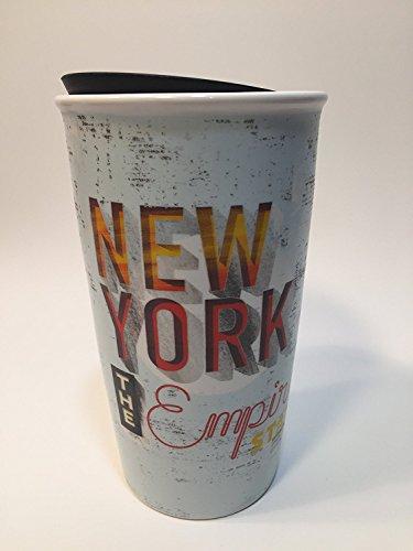 Starbucks New York Limited Edition Ceramic Travel Tumbler Double Wall 12 Oz (11063204)