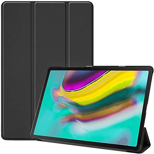 ProCase for Galaxy Tab S5e 10.5(2019 Release, Model: T720 T725 T727)Case, Slim Light Cover, Stand Hard Shell Folio Case for 10.5 Inch Galaxy Tab S5e -Black