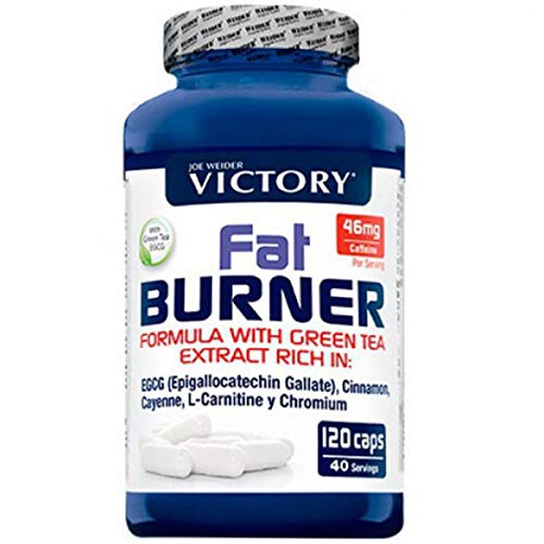 Weider Fat Burner Duo Pack, Dietary Supplement, Pack of 1 (1 x 120 Capsules)