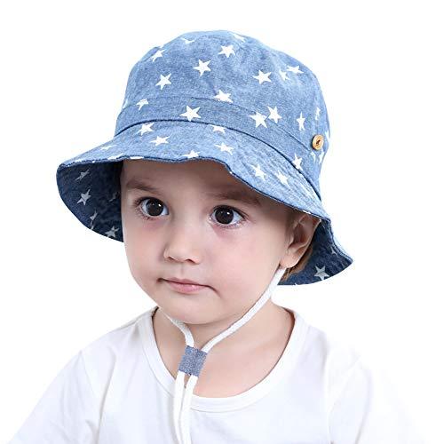 Bebé Niños Sombrero de Sol Algodón Sombrero de Playa Verano Primavera UV...