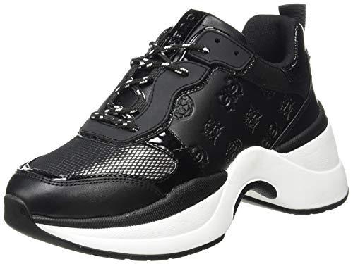 Guess JENNEA2, Zapatillas Deportivas Mujer, Blkbl, 37 EU