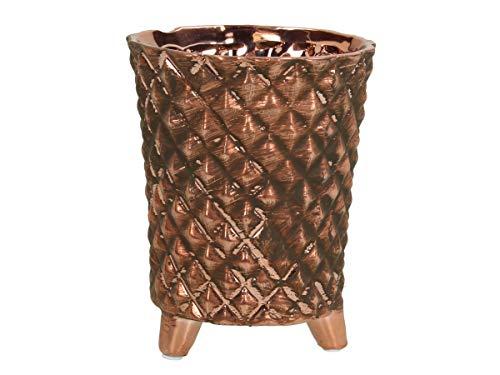 Bloempot aardewerk - koper