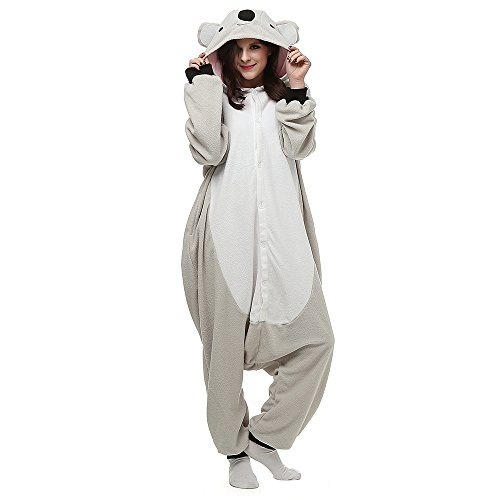 Pijama Animal Unisex Pijamas para Adultos Mono Una Pieza Ropa de Dormir Cosplay Animales de Vestuario,LTY54,M