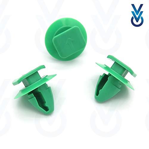 10x VVO® Befestigungsclip Für rück Radlauf Zierleiste- 71748293