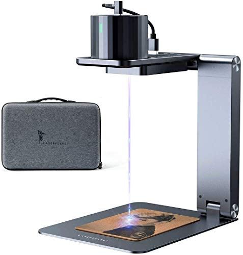 Laserpecker Pro レーザー彫刻機 レーザー刻印機 家庭用 小型 DIY道具 コンパクト 軽量 加工機 初心者 プレゼント 刻印 レーザーカッター