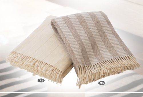 Forster Plaids Wohndecke Oslo, 130x180 cm, Farbe: 031, ca. 920 gr, Lambswool