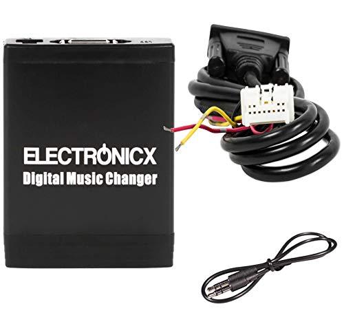 Electronicx Elec-M06-NIS Adaptador de Musica Digital para Coche USB, SD, AUX para Nissan Infiniti Cambiador CD autoradio