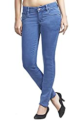 Adbucks Womens Silky Cotton Denim Stretchable Jeans