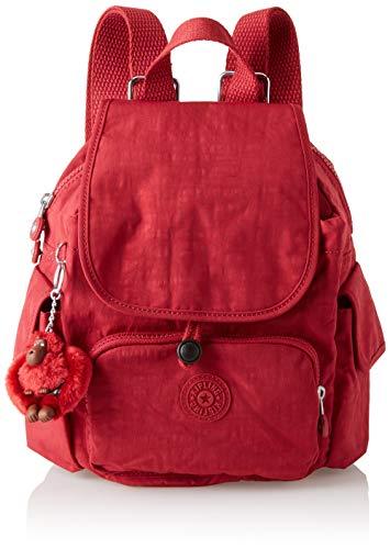Kipling City Pack Mini, Sacs à dos femme, Rouge...
