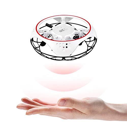 presentimer Fliegende Drohne, intelligente Induktion Vier Achsen Flugzeuge Drop Resistant Mini Quadcopter Drohne Spielzeug, Fliegende Spielzeug Unusual
