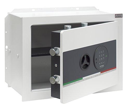 Bordogna Vesta 030/E Cassaforte da Muro con Serratura Elettronica, Bianco, 030