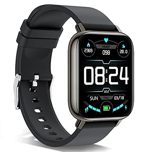andfive Smartwatch, 1,69   Full Touch Orologio Fitness Tracker Uomo Donna Smart Watch Sonno Cardiofrequenzimetro, IP68 Impermeabile Sportivo Activity Tracker Contapassi Cronometro, Smartband