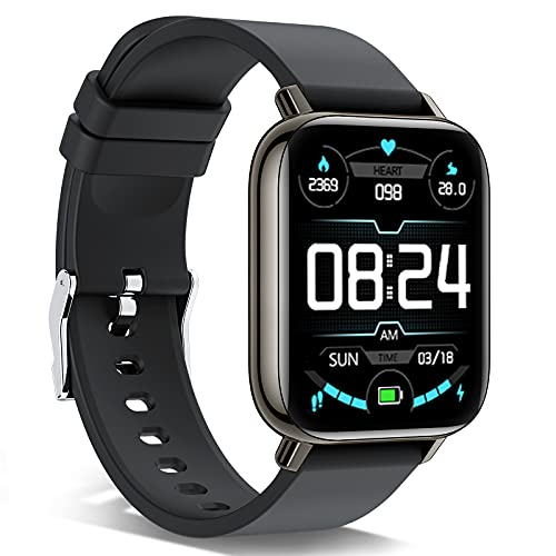 andfive Smartwatch, 1,69'' Full Touch Orologio Fitness Tracker Uomo Donna Smart Watch Sonno Cardiofrequenzimetro, IP68 Impermeabile Sportivo Activity Tracker Contapassi Cronometro, Smartband