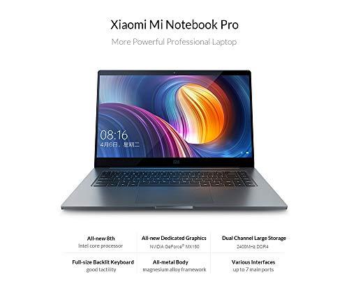 Xiaomi Mi Notebook Pro Intel Core i7 CPU 16GB DDR4 RAM 256GB GeForce GPU 15.6