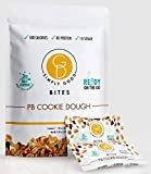 Good Dee's Peanut Butter Cookie Dough Keto Bites - Low Carb Protein Snacks for On The Go with Seven Bites Per Pouch (100 calories, 3g net carbs, 8g protein, 1g Sugar) - Diabetic & Keto Friendly