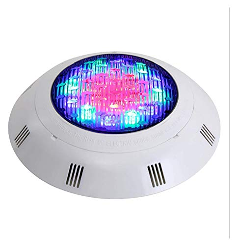 Underwater Swimming Pool Lights, RGB Color Changing Surface/wall Mounted Waterproof Submersible Light With Remote Controller
