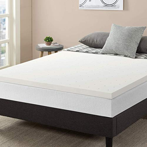"Best Price Mattress Topper Queen, 2"" Memory Foam Mattress Topper with Certipur-US Certified Ventilated Cooling, Queen Size"