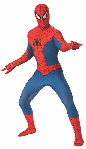 Rubie's Men's Marvel 2nd Skin, Spider-Man, Medium