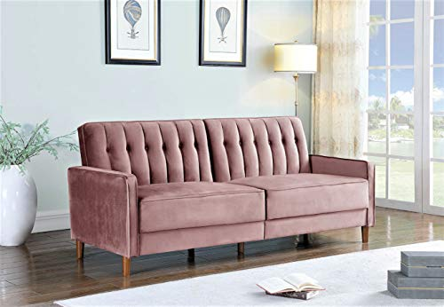 Container Furniture Direct Grattan Convertible Sofa Bed, Pink
