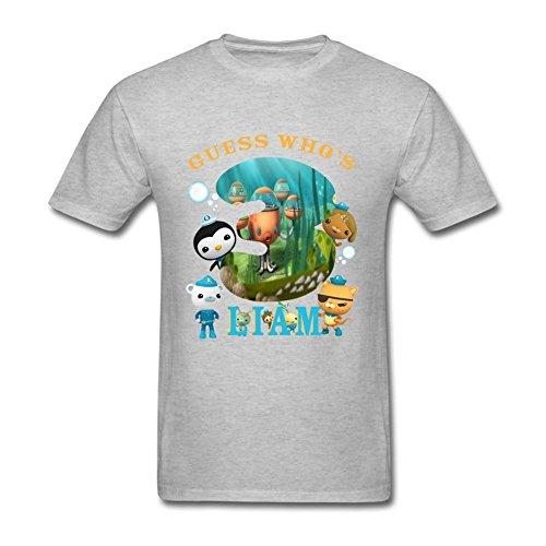 Edwina Erin Men's The Octonauts Birthday Gifts Short Sleeve T Shirt S Large