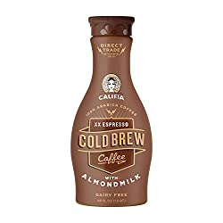 Califia Farms Xx Espresso Cold Brew Coffee With Almondmilk, 48 Oz