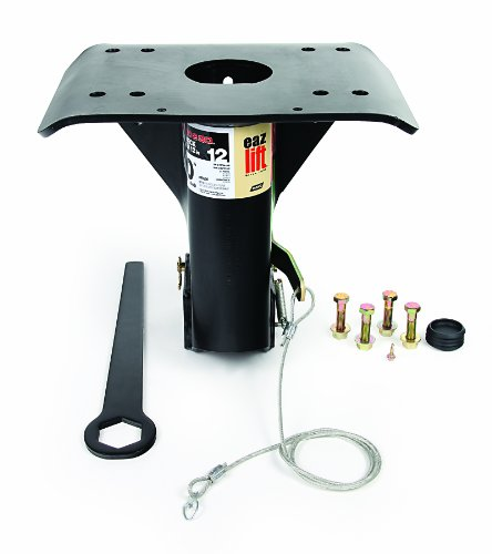 EAZ LIFT 12″ Gooseneck Adapter – Ideal for flatbed with recessed ball
