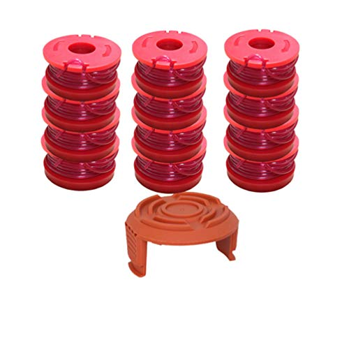 Lowest Prices! DOITOOL 13Pcs Line String Trimmer Replacement Spool String Trimmer Edger for Weed Cut...