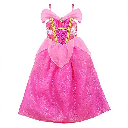 Disney Aurora Costume for Girls  Sleeping Beauty, Size 7/8