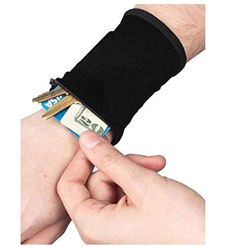 Generic Multifonctionnel Sac de Poignet téléphone Portable Brassard Wristlet Wallet pour Voyage, Running Pouch pour Vos Accessoires de Course