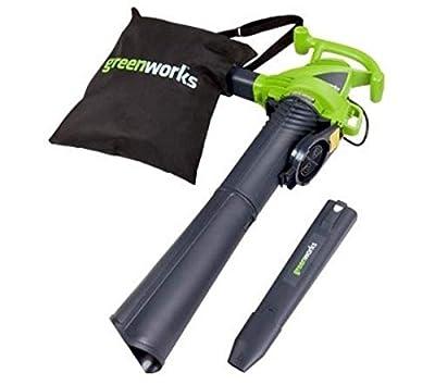 Greenworks 2 Speed 230 MPH Electric Leaf Blower/Vacuum 24022