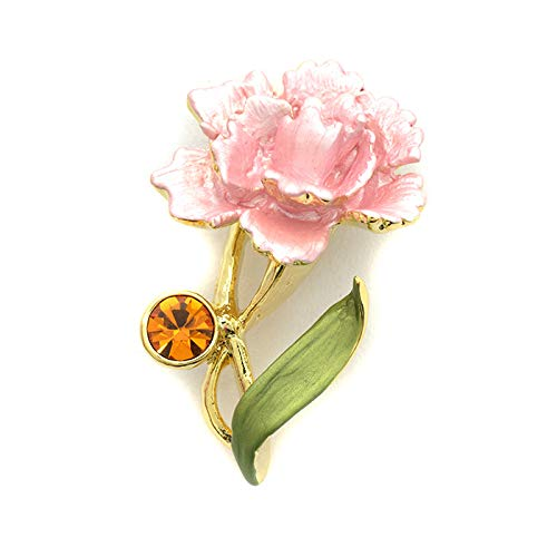 ブローチ カーネーション 花 フラワー おしゃれ レディース 母の日 プレゼント