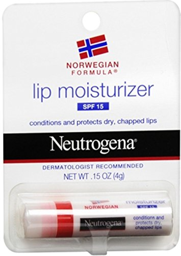 Neutrogena Lip Moisturizer SPF 15 015 oz Pack of 5