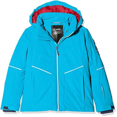 CMP Mädchen Wattierte 7000 Skijacke Jacke, Blue Jewel, 164