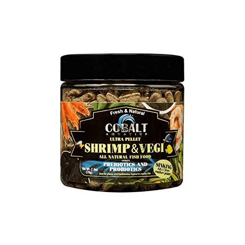 Cobalt Ultra Shrimp & Vegi 9.8 mm Grazer Sinking 2.8 oz