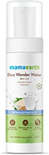 Mamaearth Rice Wonder Water Hair Serum for Women, For Detangled Hair in 7 Seconds, With Rice Water & Keratin - 100 ml