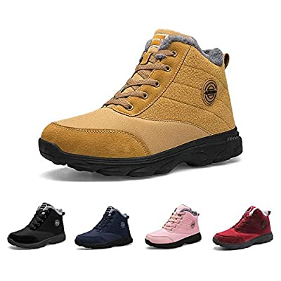 BenSorts Womens Snow Boots Fur Lined Anti-Slip ...