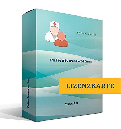 Patientenverwaltung[nur Lizenzschlüssel, ohne Datenträger]