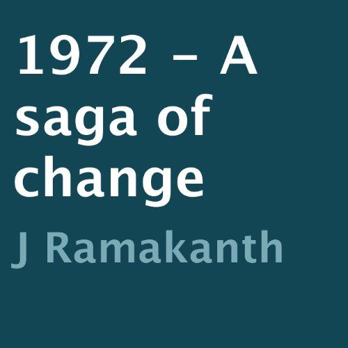 『1972 - A Saga of Change』のカバーアート