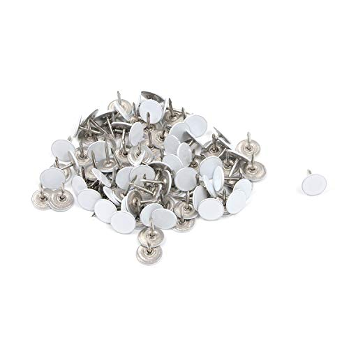 Karcy Thumb Tacks Furniture Tacks Flat Metal 0.43x0.51