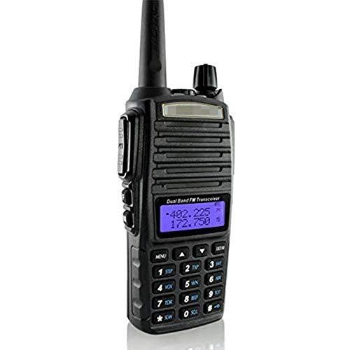 QCHEA Walkie Talkie Radios Radio portátil Batería de Alta Capacidad Mayor Que Otra Banda Dual FM Radio aficionada con Gran Rango