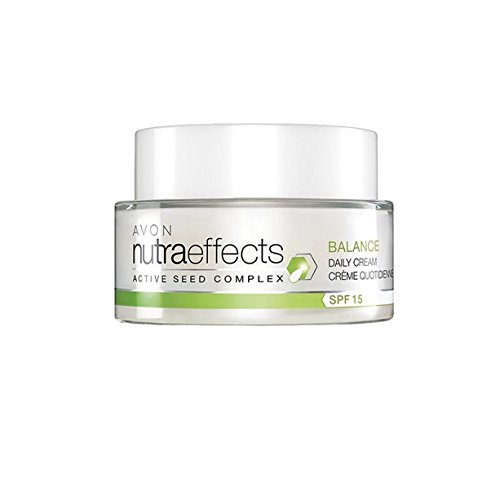 Avon Nutra Effects mattierende Tagescreme LSF 15 mildert Glanz für fettige Haut/Mischhaut