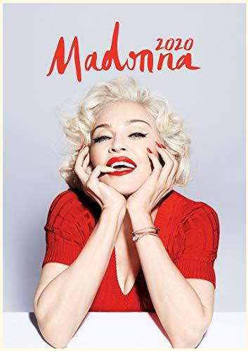WallKalender 2020 [12 blatt 20x30cm] Madonna Pop Musik Star Vintage Foto Plakat Magazine Cover