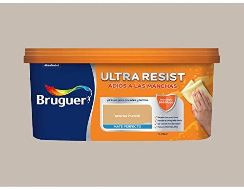 Pintura interior Bruguer Ultra Resist Marron cremoso 4 Lt