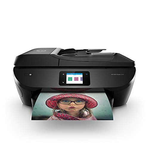 HP ENVY Photo 7830 Multifunktionsdrucker (Instant Ink, Drucken, Scannen, Kopieren, Faxen, WLAN, Airprint) inklusive 6 Monate Instant Ink