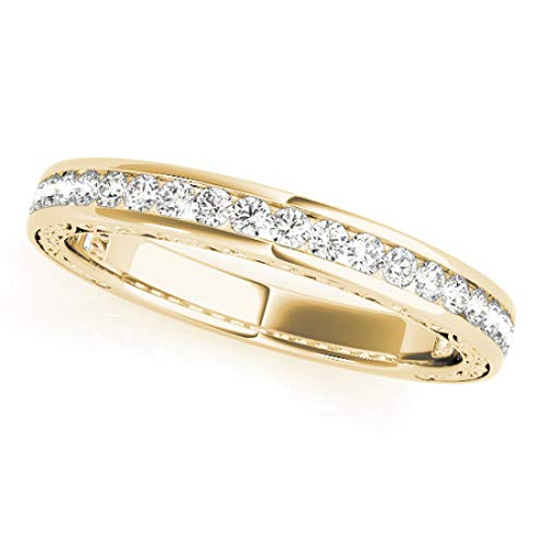 Bridal Set Ring with 1.75 cttw of Natural Round Shape Diamonds available in 14K White, Yellow or Rose Gold. Complimentary Designer Gift Box. Free Certificate.