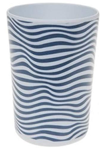 Tasses Summer Living mélamine 4 pièces Blanc/Bleu