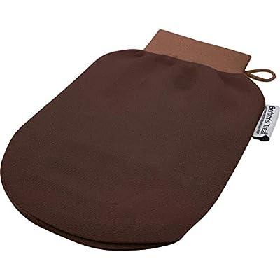 Kessa Scrubbing Glove - Exfoliate and Remove Dead Skin Cells - Spa Treatment (Brown)